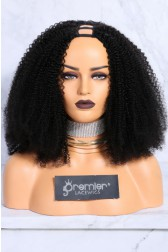 Textured U-Part Wigs Afro Kinky Curly ( For 3c and 4a textures){Production Time 2 Weeks}