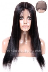 Silk Top Full Lace Wig Indian Remy Hair Light Yaki