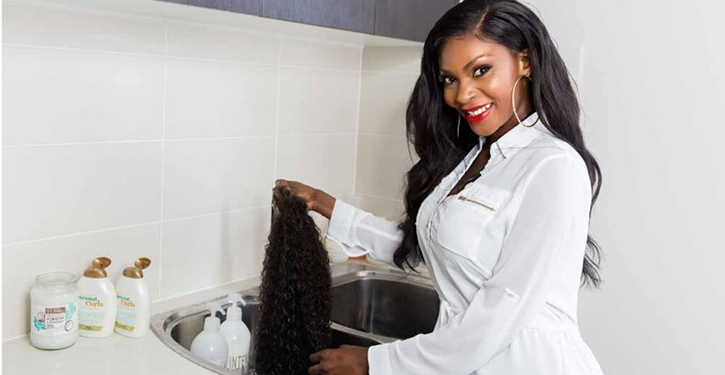 Lace wig washing tips