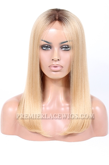 blonde ombre bob lace front wig