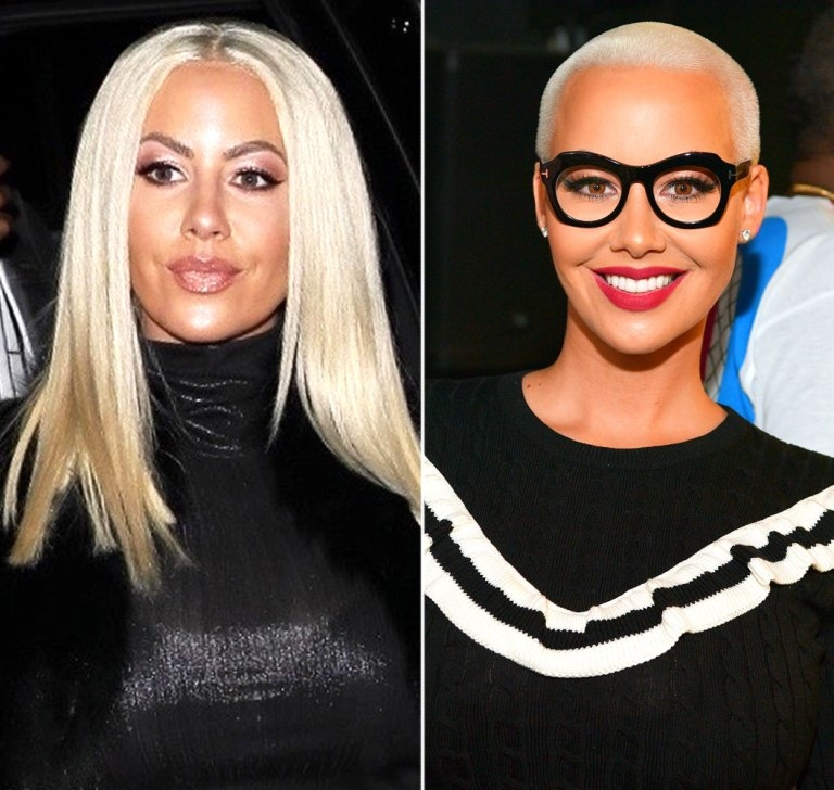 Amber Rose Is Wearing Wigs
