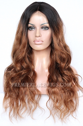 CLFW-19 Ciara Ombre Brown lace front wig