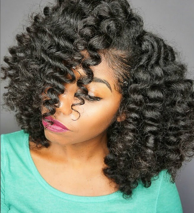 How To Create Flexi Rods Curls On A Lace Wig