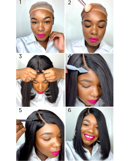 How To Put On A Wig For Beginners