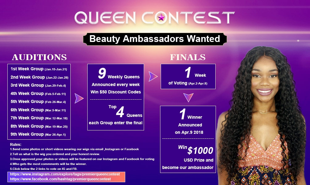 QUEEN CONTEST  Beauty Ambassadors Wanted