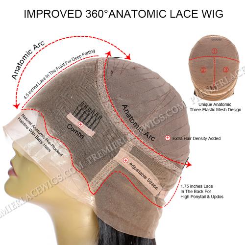 360°Anatomic Lace Wig Cap
