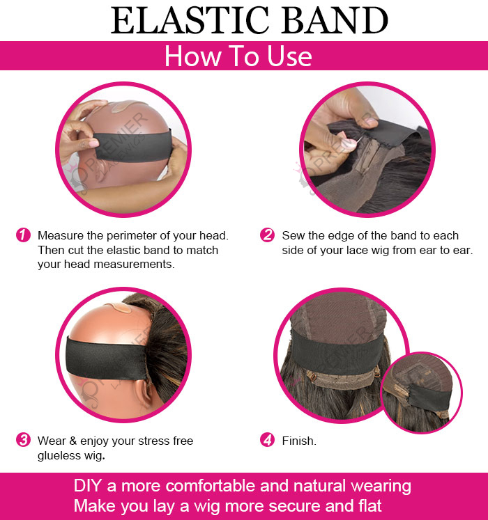 How To Use A Elastic Band For Your Lace Wigs ?
