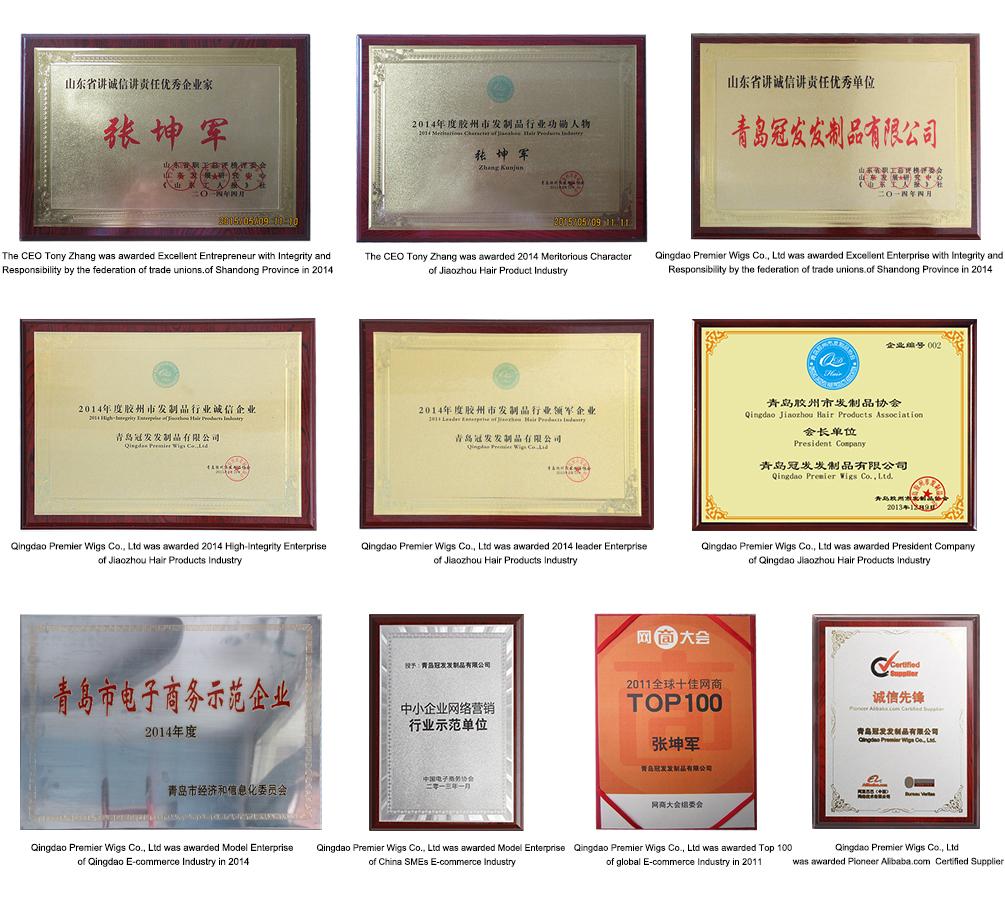 Premierlacewigs Trustpass Certificate