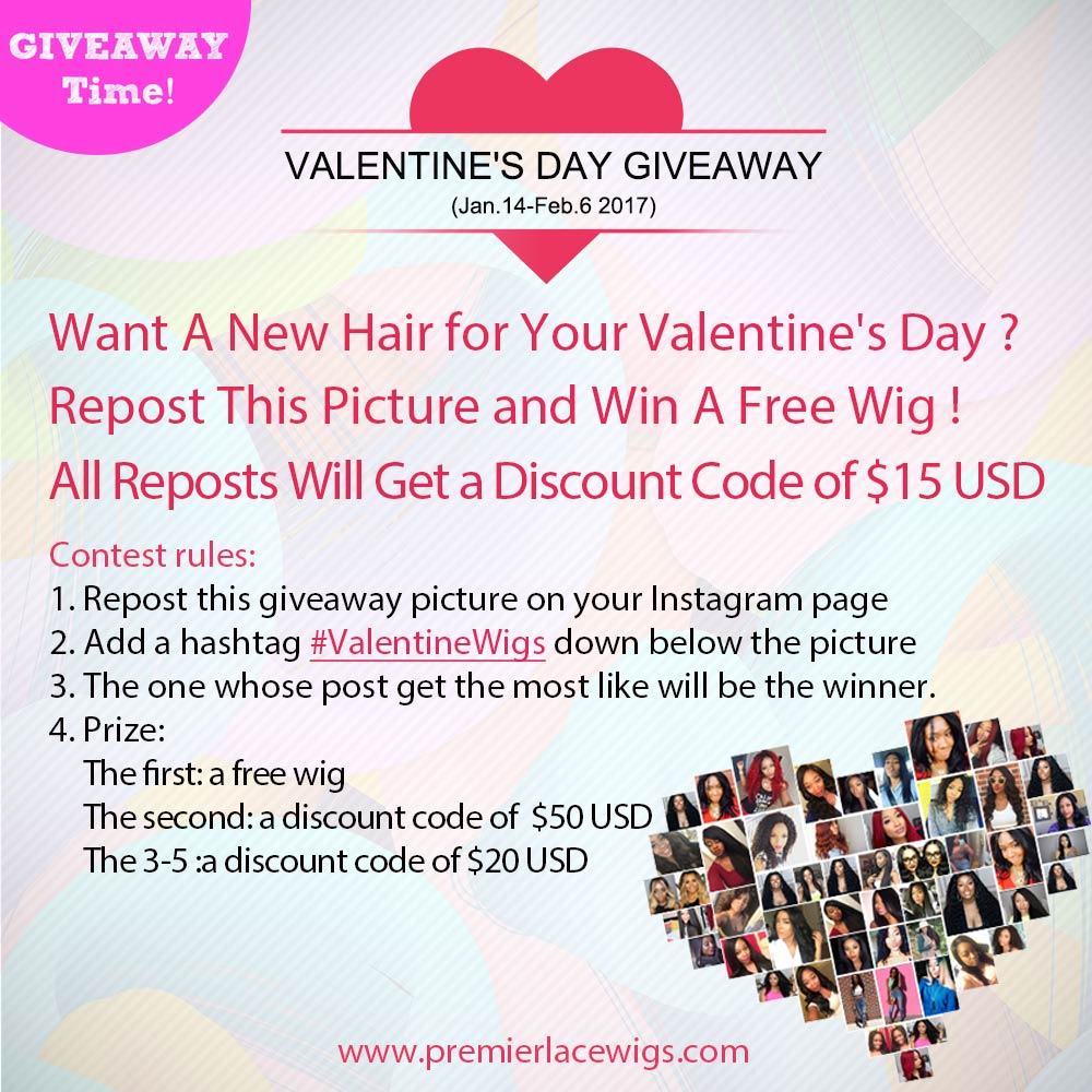 the post of Valentine's Day Giveaway