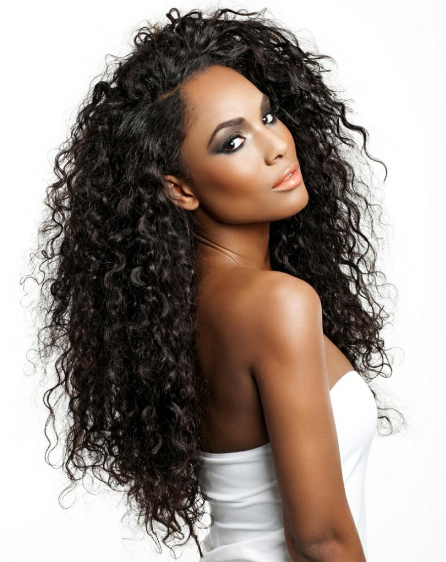 Diffuser On Natural Black Hair