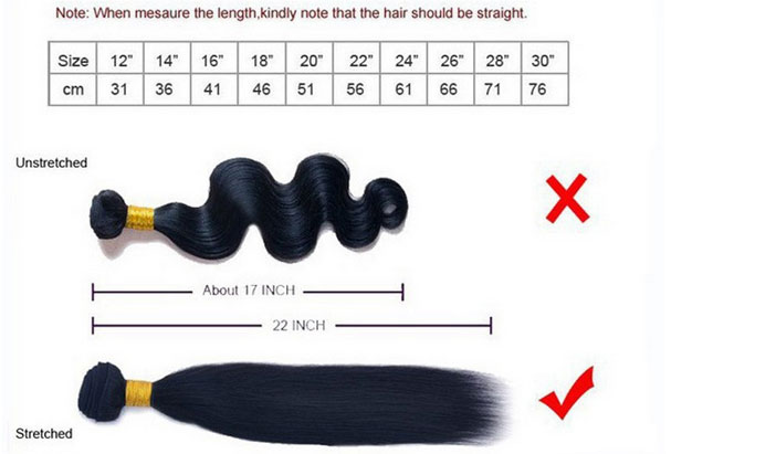 Premierlacewigs Measure hair weave