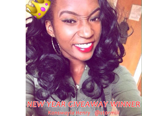 New Year Giveaway Winner