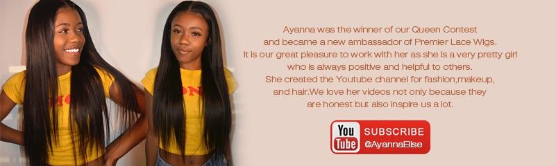Youtube Guru AyannaElise's Lace Wigs