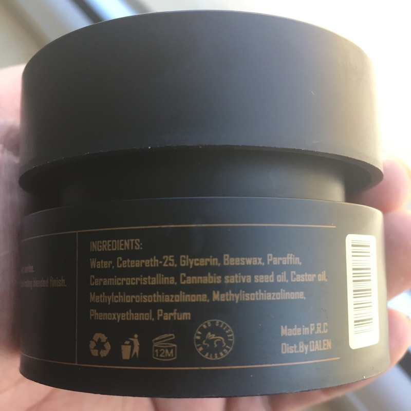 Edge Control Extra Hold Edge Tamer Hair Gel(3.17oz)