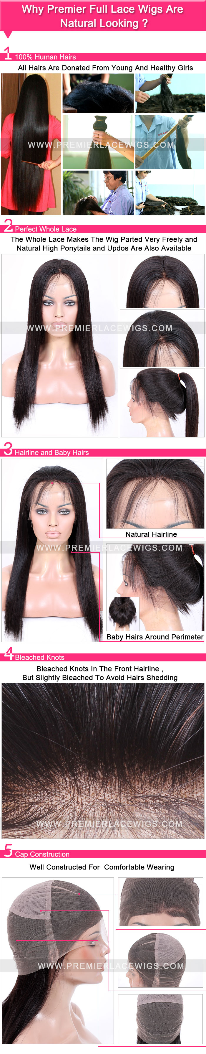 Full Lace WIG Natural looking