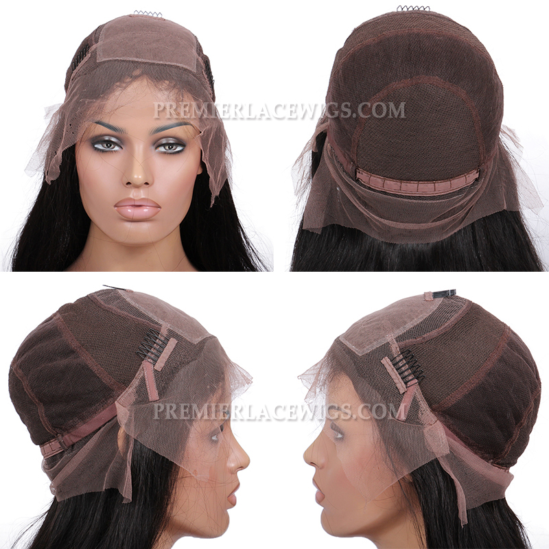 Glueless Silk Top Full Lace Wig Cap